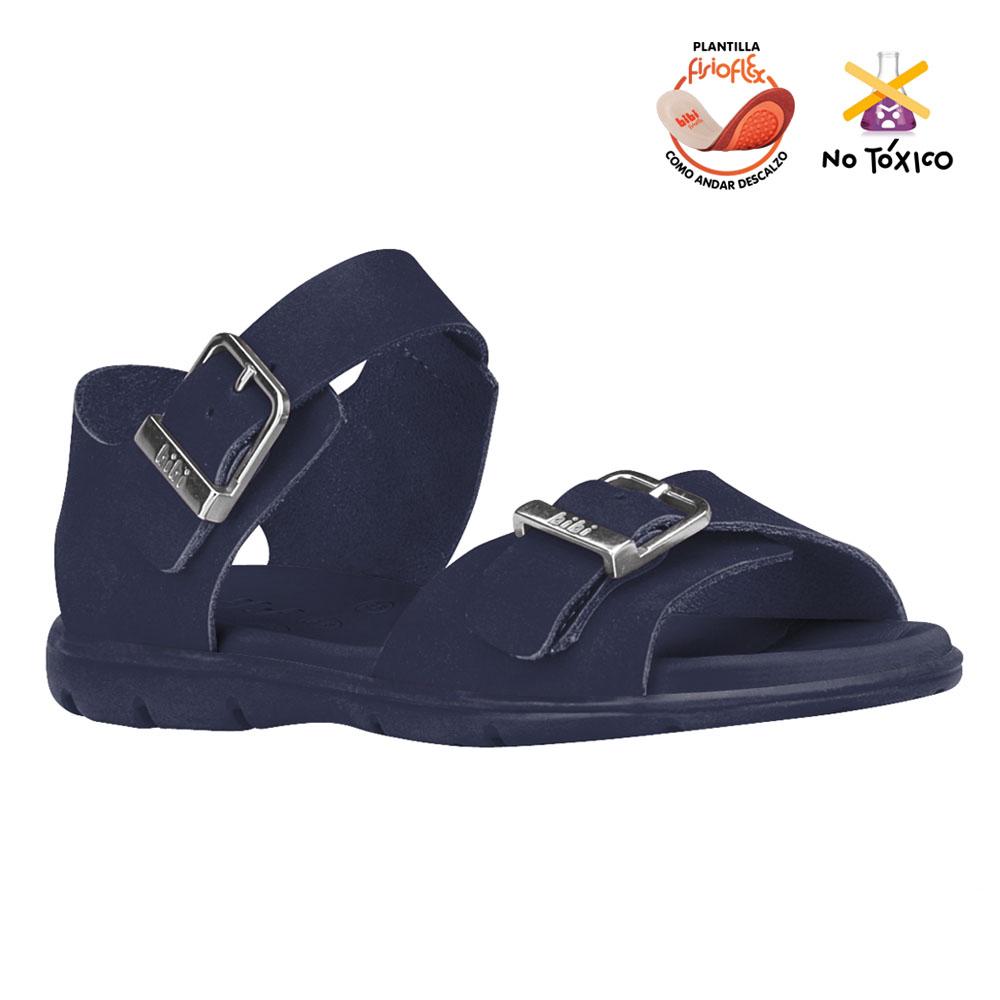 Sandalia  Bibi Basic Sandals Azul Para Niña