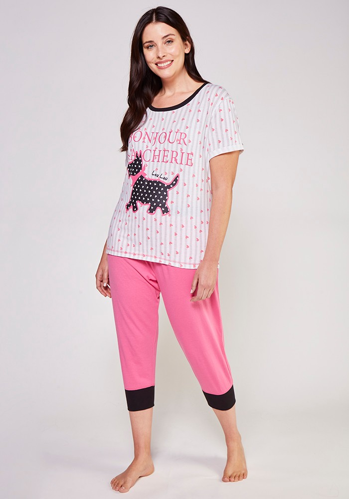 Pijama Dama 70.842 Algodón