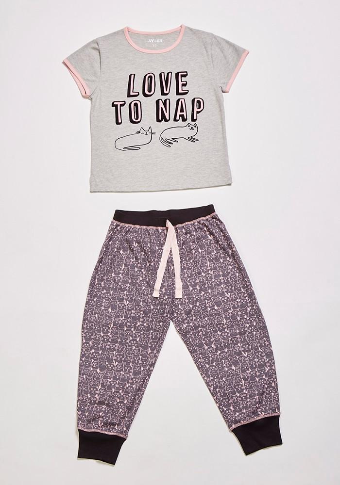 Pijama Juvenil Mujer 75.854 Algodón