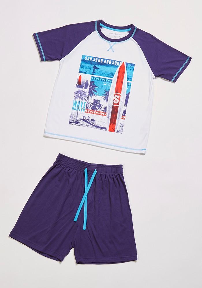 Pijama Juvenil Hombre 76.662 Algodón