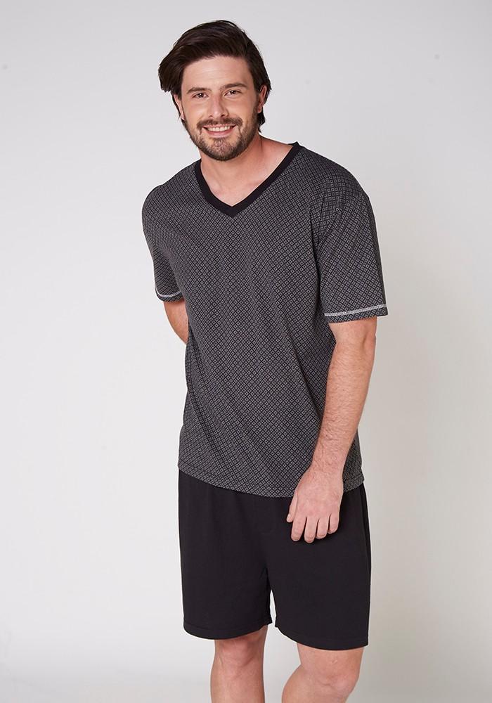 Pijama Caballero 77.654 Algodón