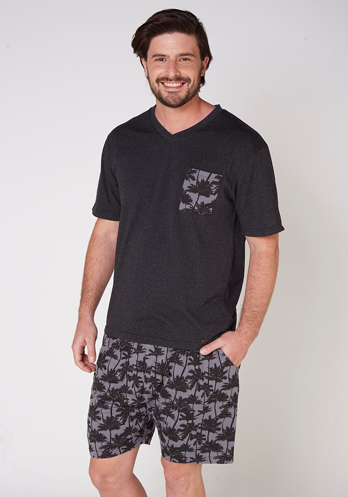 Pijama Caballero 77.656 Algodón