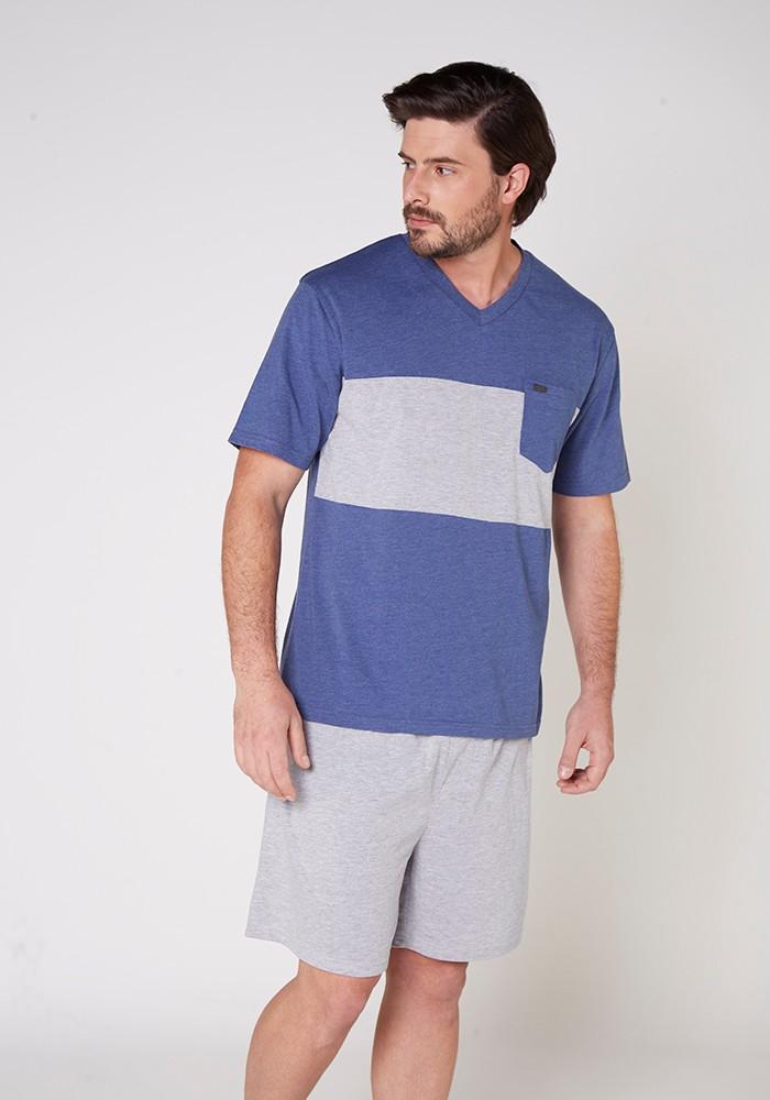 Pijama Caballero 77.659 Algodón
