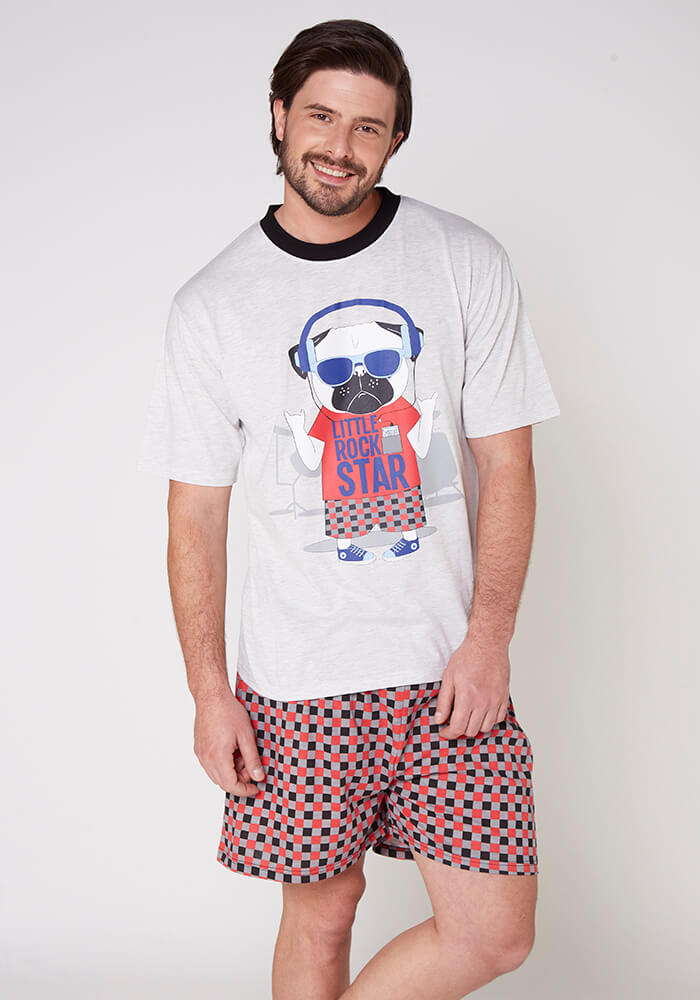 Pijama Caballero 77.664 Algodón