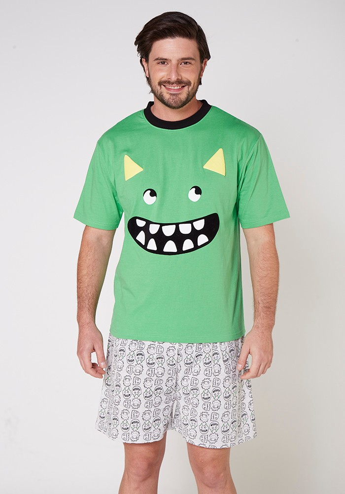 Pijama Caballero 77.665 Algodón