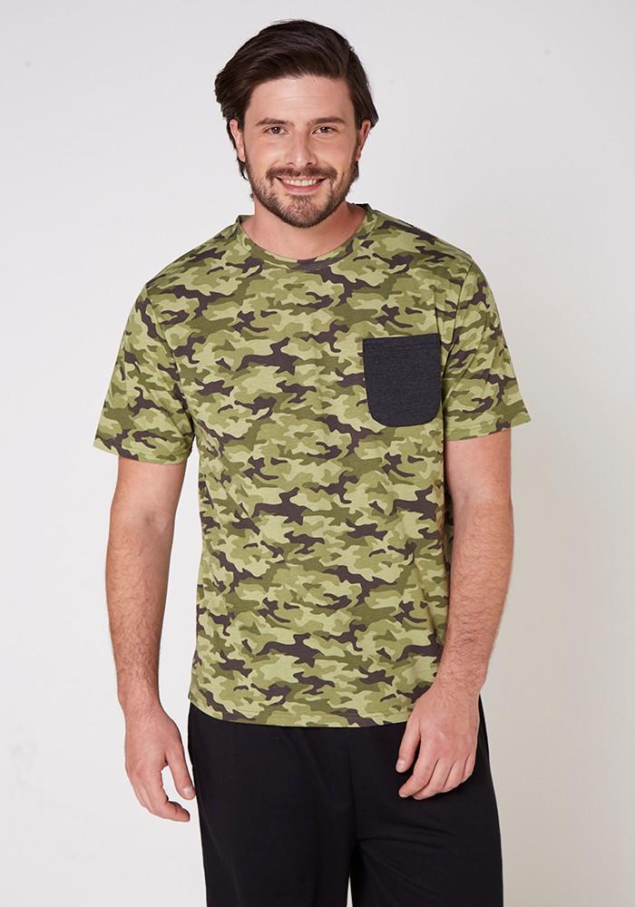 Polera Caballero Homewear 7750 Algodón