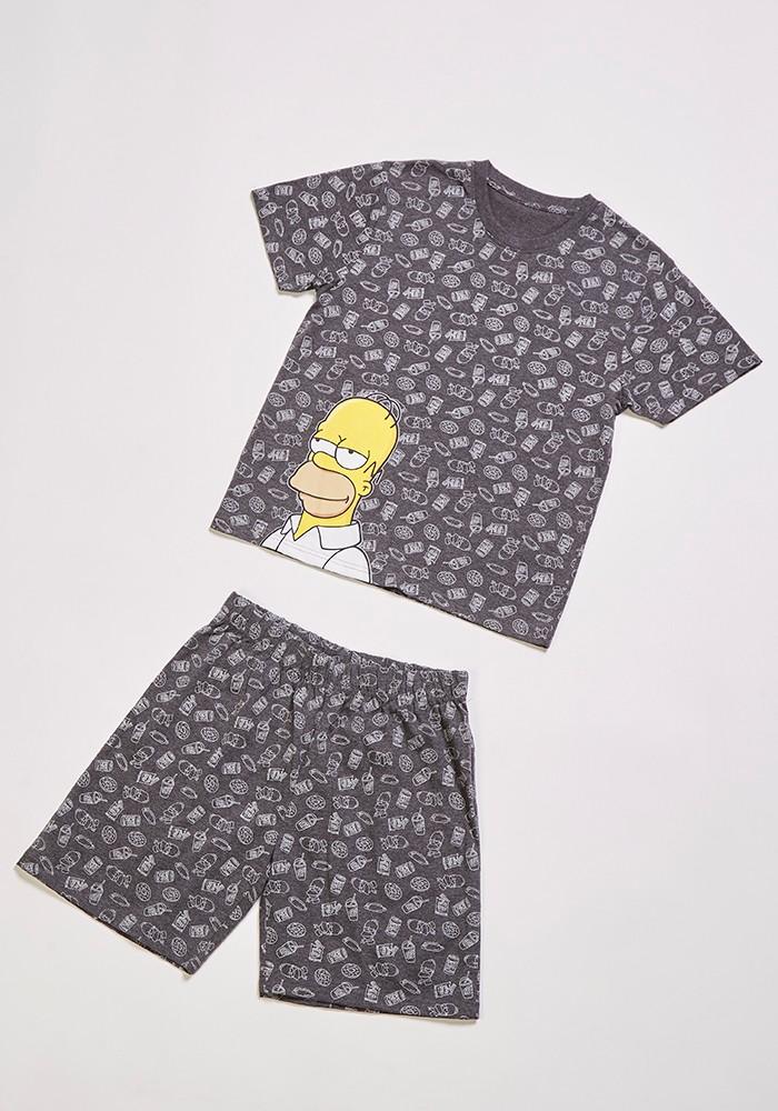 Pijama Juvenil Hombre S7663 Algodón