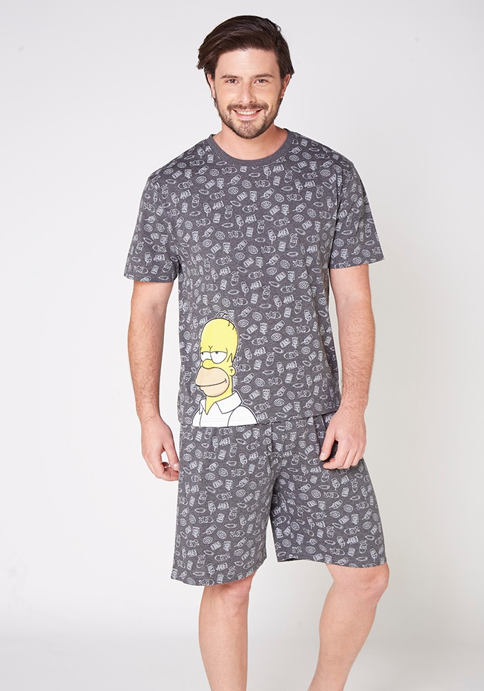 Pijama Caballero S7763 Algodón