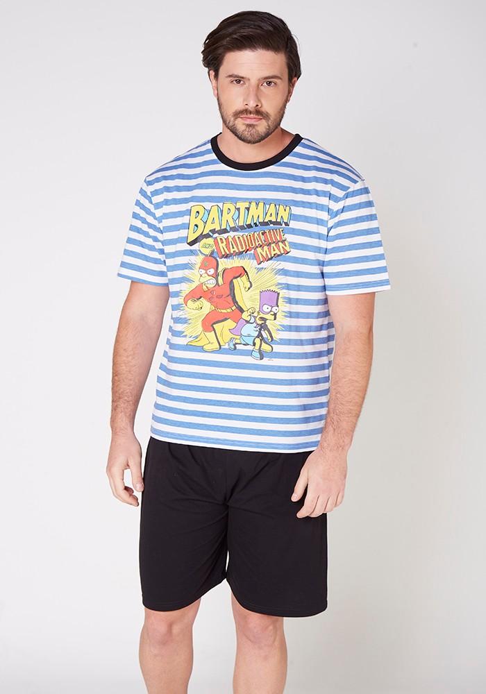Pijama Caballero S7764 Algodón
