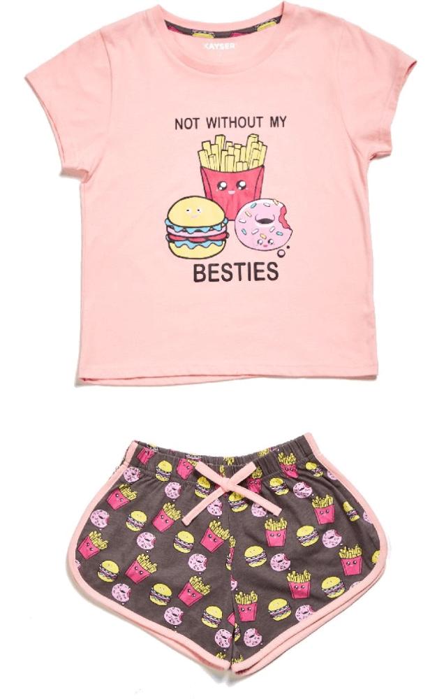 Pijama Juvenil Mujer 75.858 Algodón