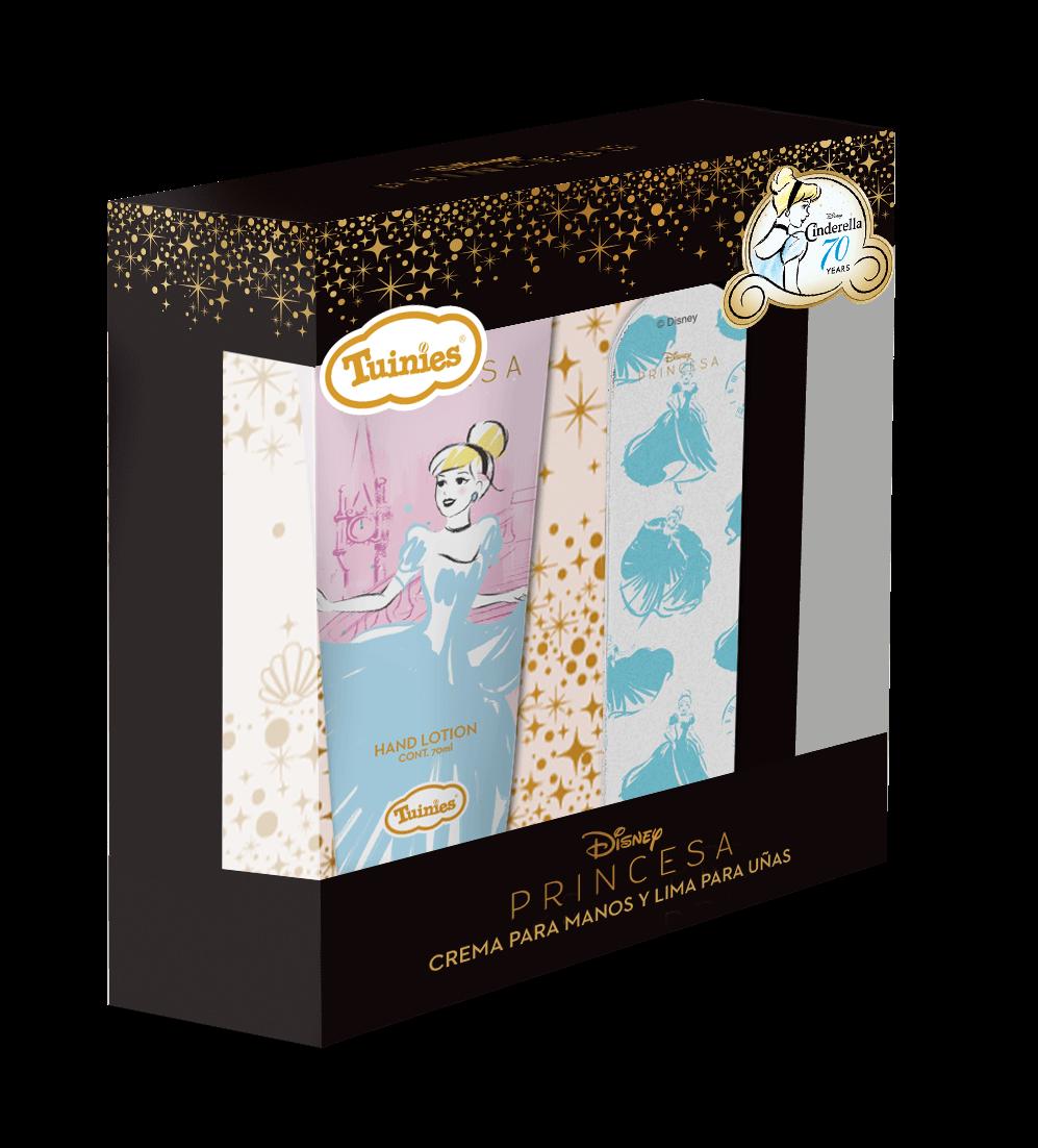 Set Crema CINDERELLA(Crema Para Manos 70ml + Lima Para Uñas)