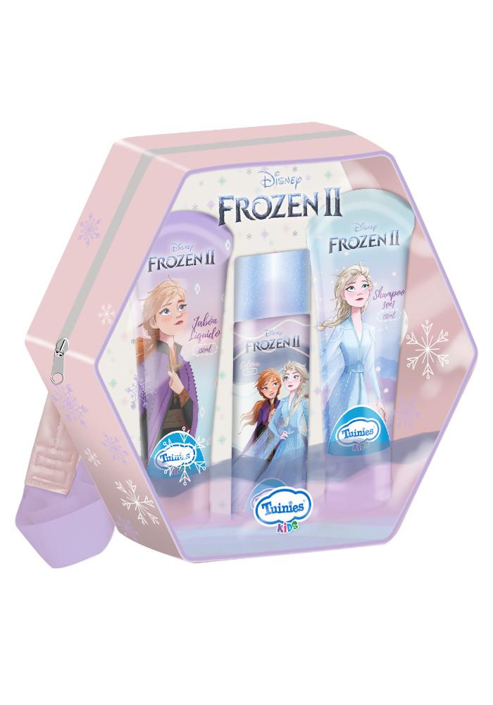 Set Mochila Frozen(1 Colonia 100ml - Shampoo 3 En 1 De 150ml - Jabón Líquido 150ml)