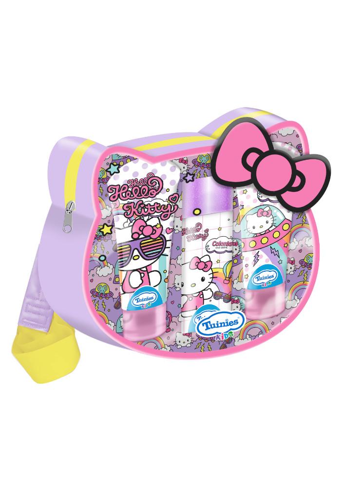 Set Mochila HELLO KITTY (1 Colonia 100ml - Shampoo 3 En 1 De 150ml - Jabón Líquido 150ml)