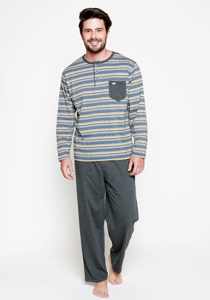 Pijama Caballero 67.1142 Algodón