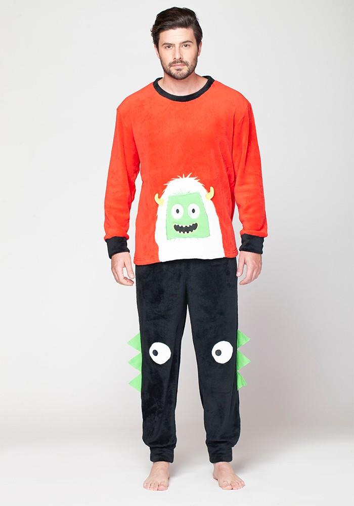 Pijama Caballero 67.1164 Coral Fleece