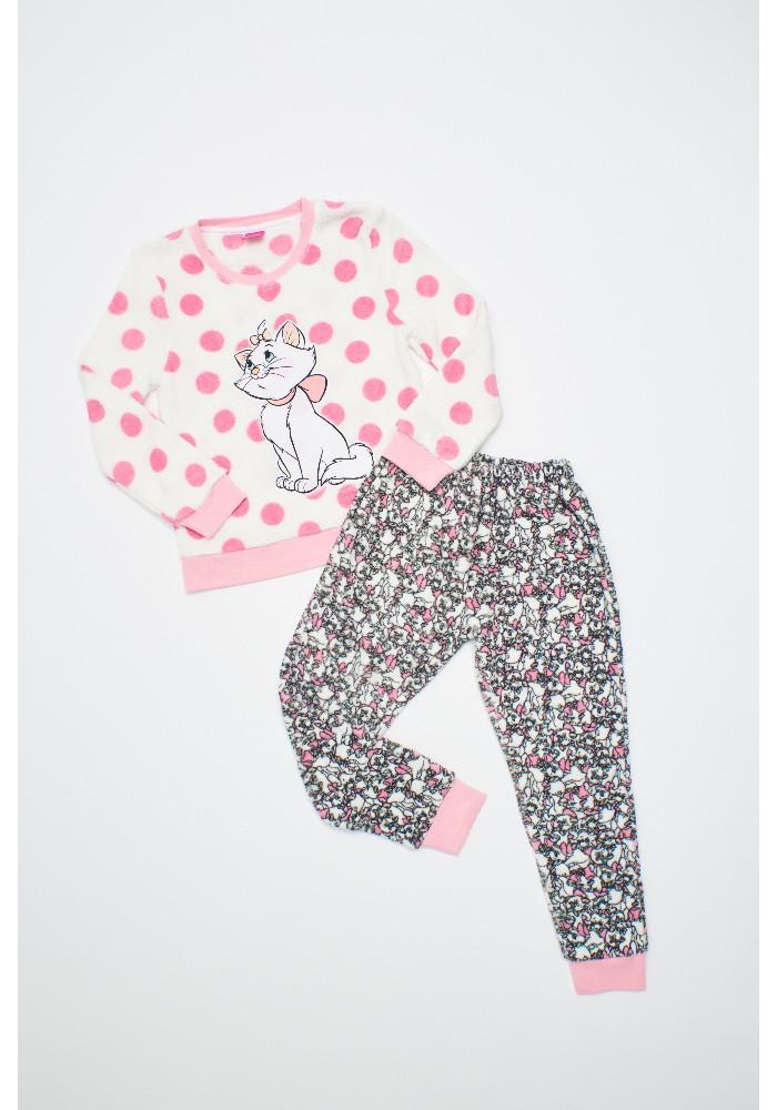 Pijama Niña D6320 Coral Fleece