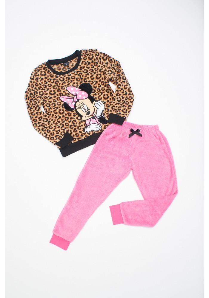 Pijama Niña D6322 Coral Fleece