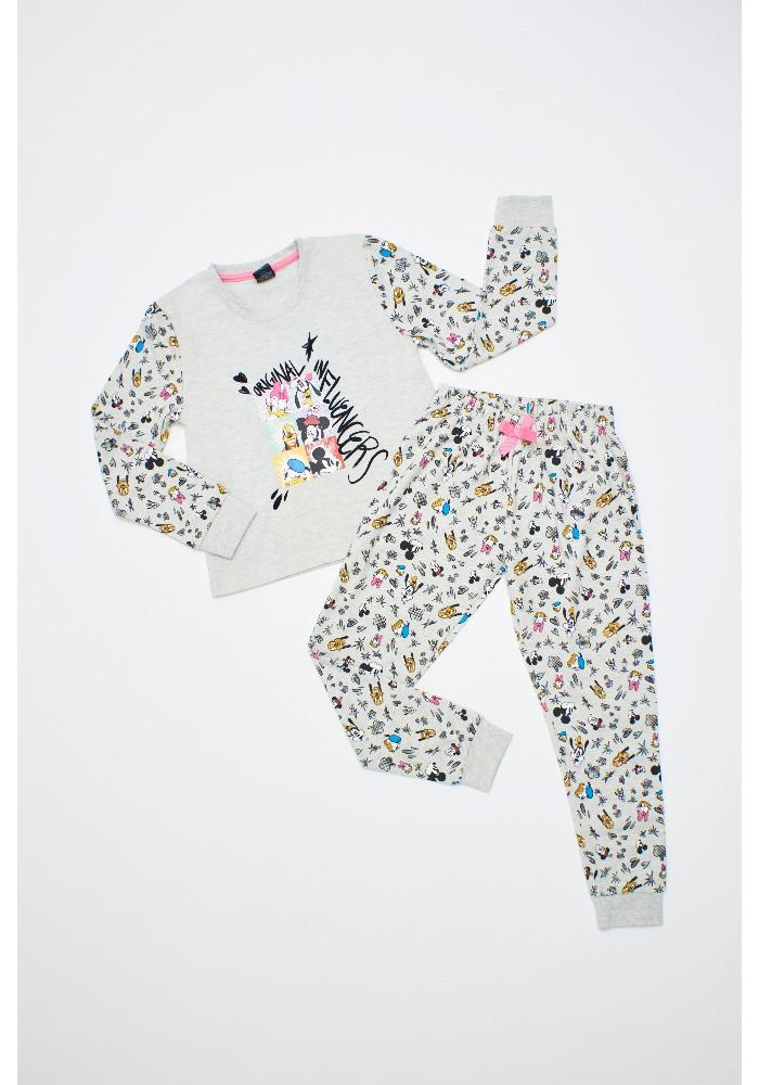 Pijama Niña D6323 Algodón