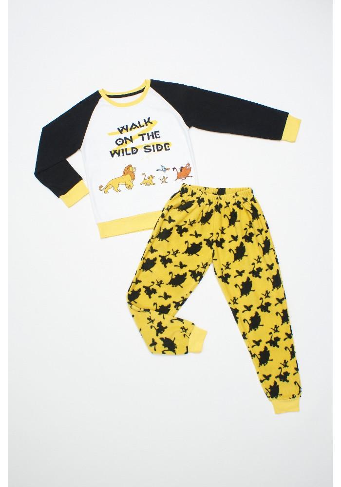 Pijama Niño D6422 Polar