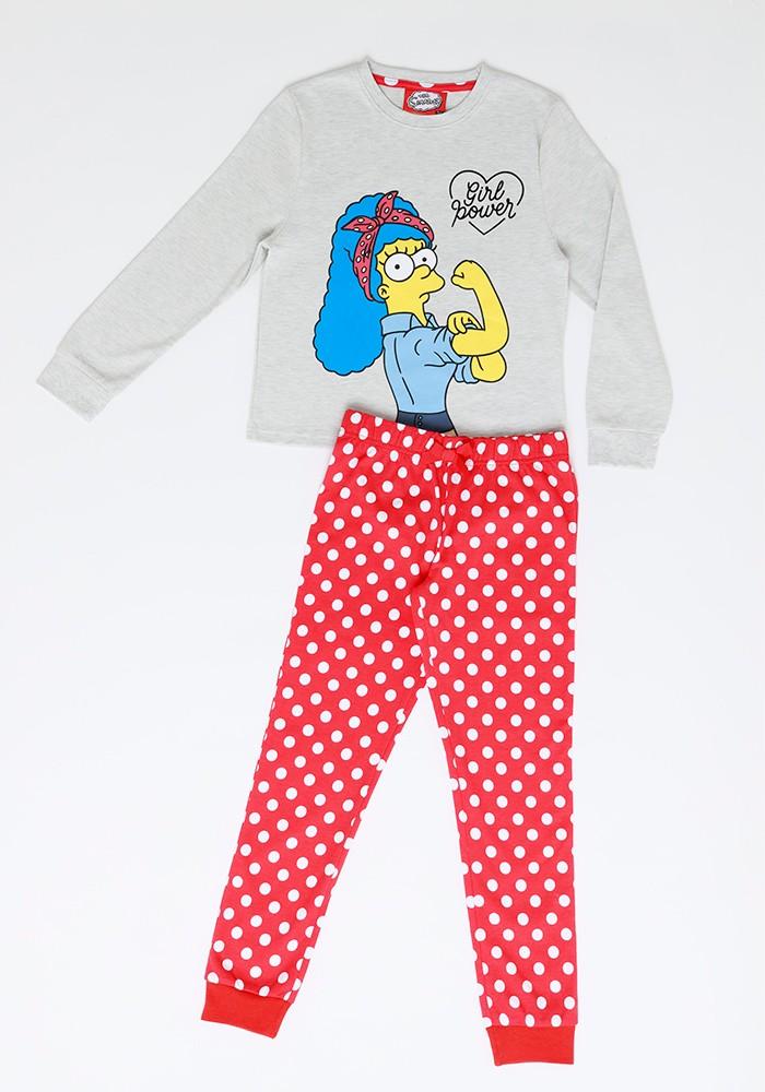 Pijama Niña S6350 Algodón