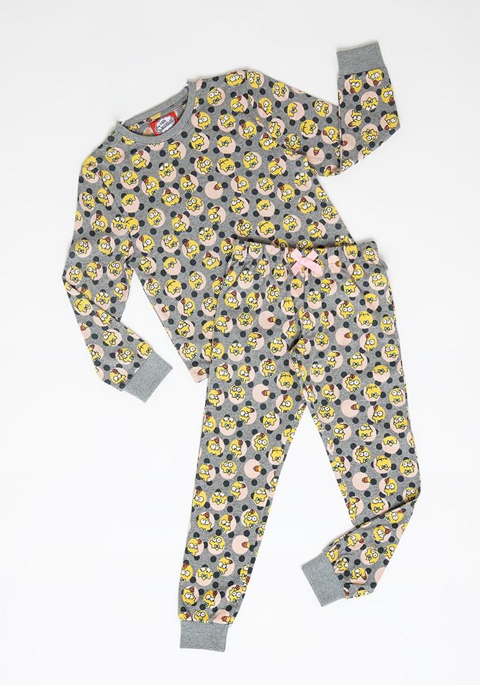 Pijama Niña S6352 Algodón