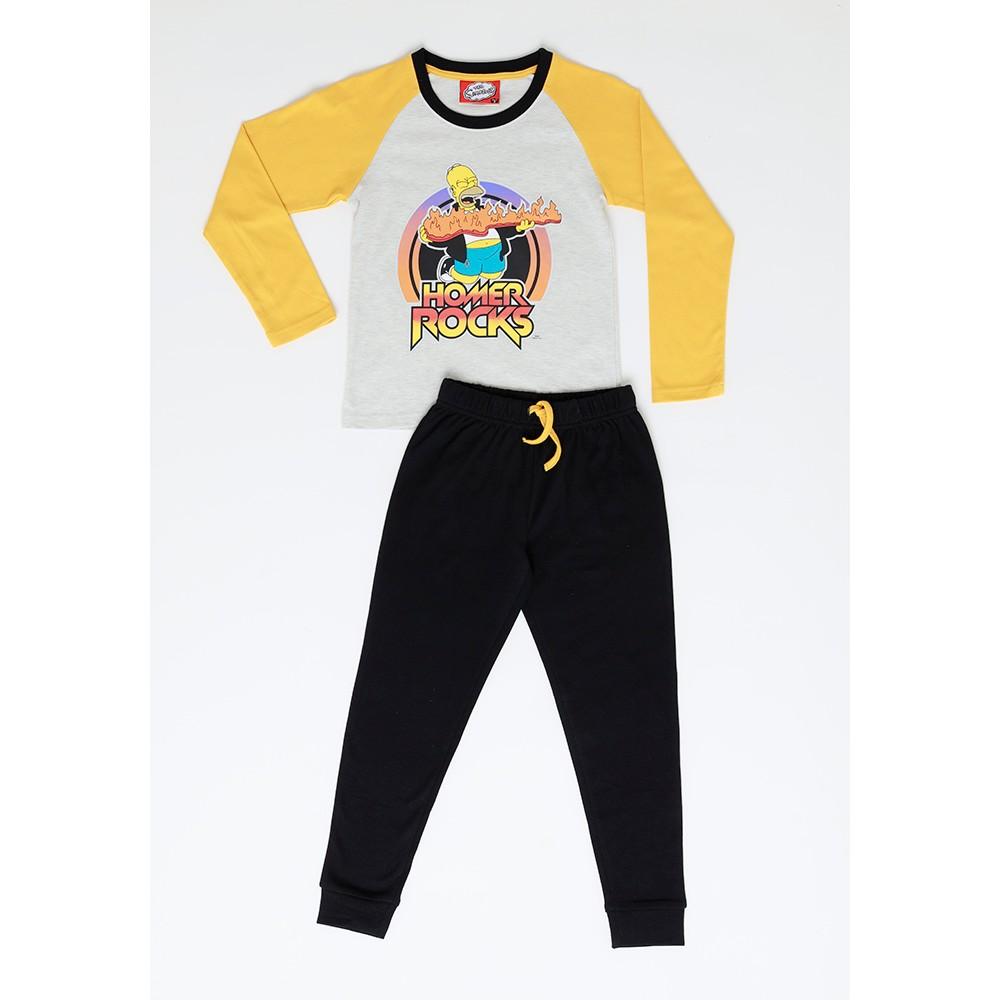 Pijama Niño S6460 Algodón