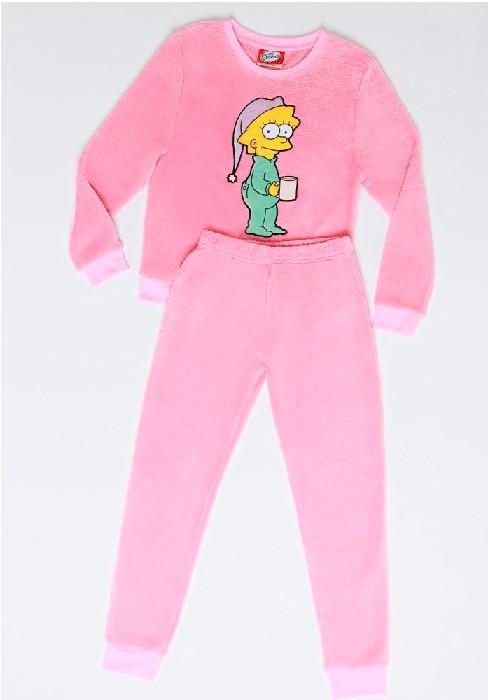 Pijama Juvenil Mujer S6551 Coral Fleece