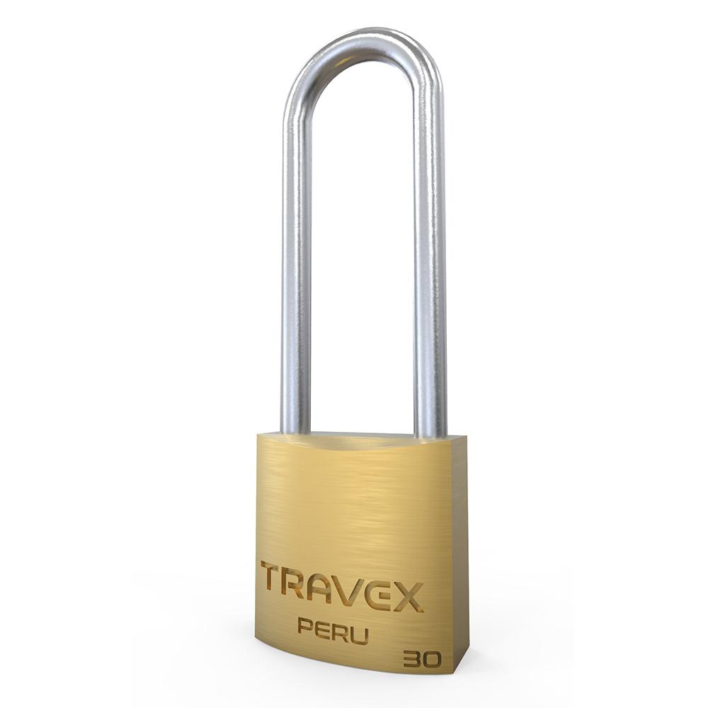 Candado de Seguridad 30 Arco Largo - Travex
