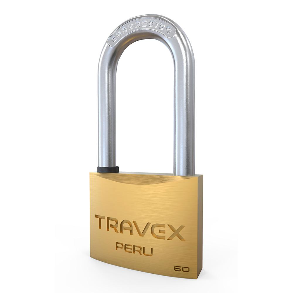 Candado de Alta Seguridad 60 Arco Largo - Travex