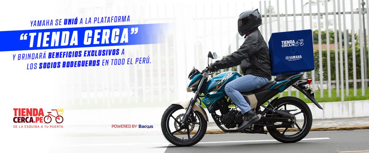 "Yamaha se unió a la plataforma ""Tienda Cerca"""