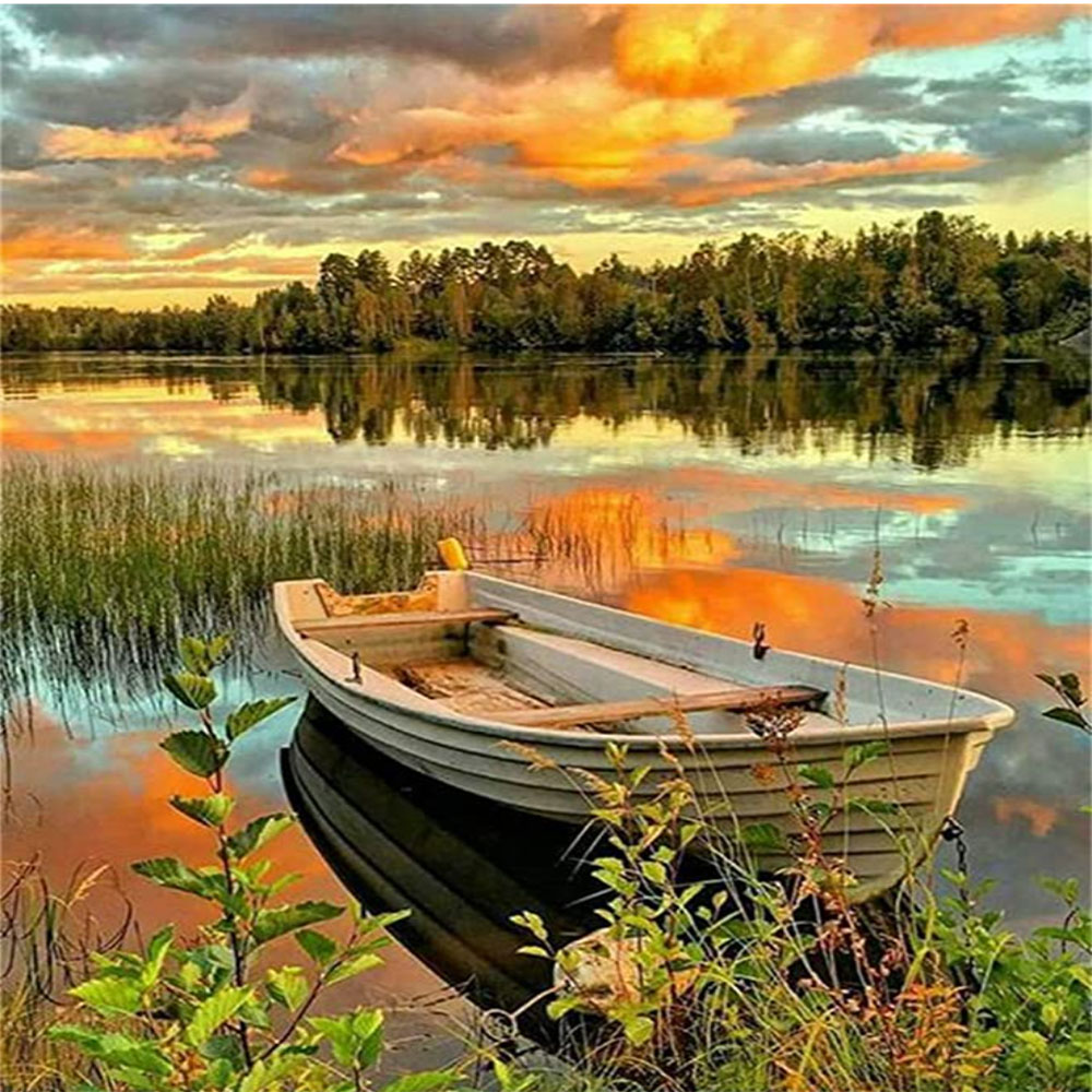 Bote en Lago