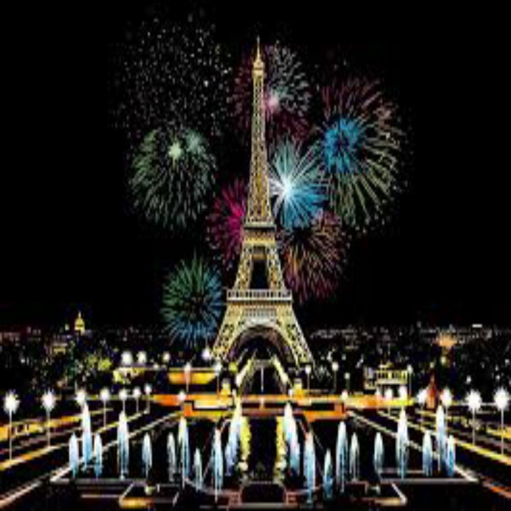 Fuegos Artificiales de París