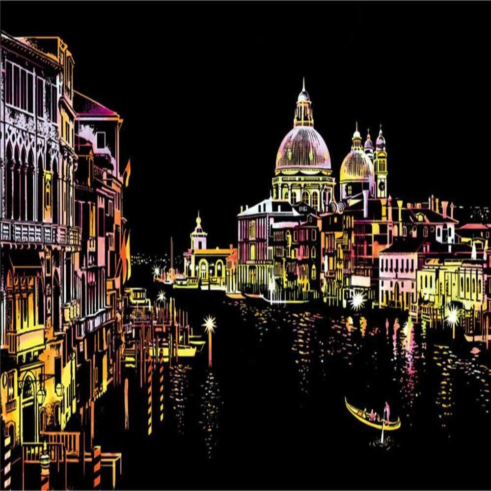 Canal de Agua de Venecia-Italia