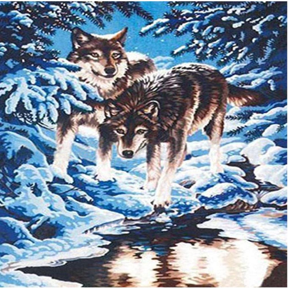 Lobo en Nieve