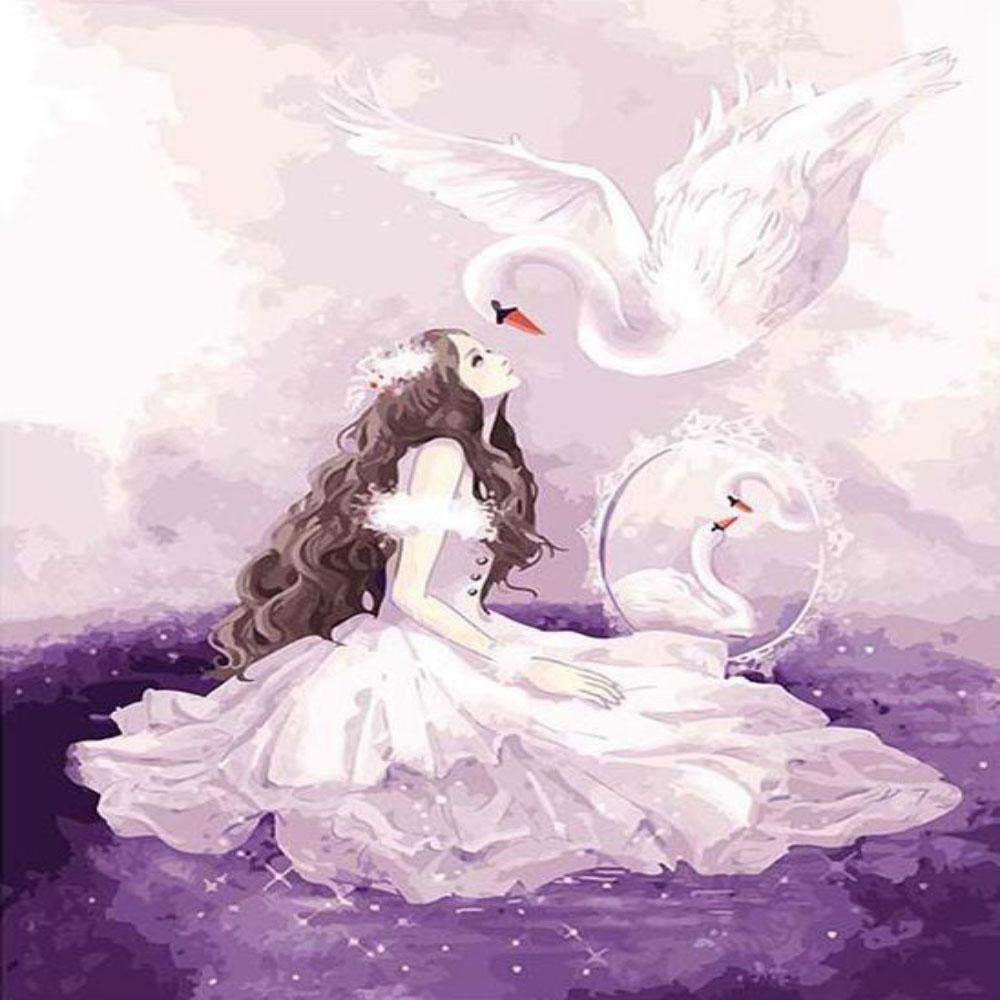 Princesa con Cisne