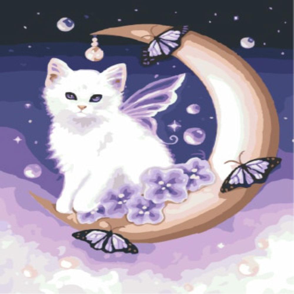 Gato en Luna