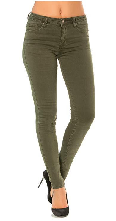 Mujer Vaqueros Slim, Skinny Pantalones Jeans