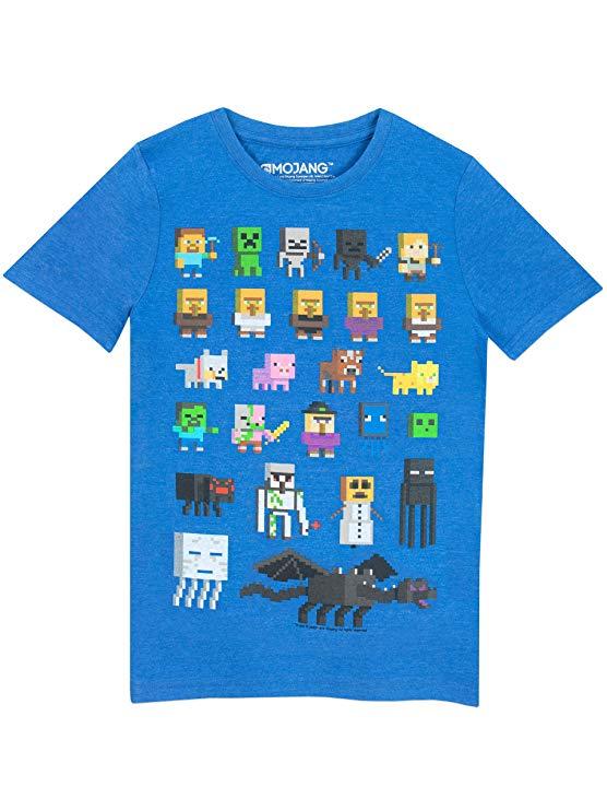 Minejuego,Camiseta,para,niño