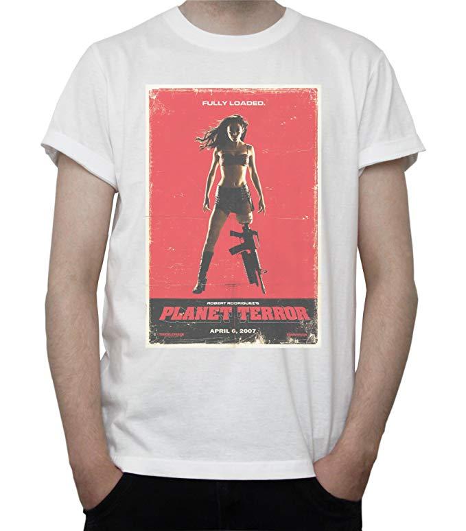 Planet Terror Movie Poster Mens T-Shirt