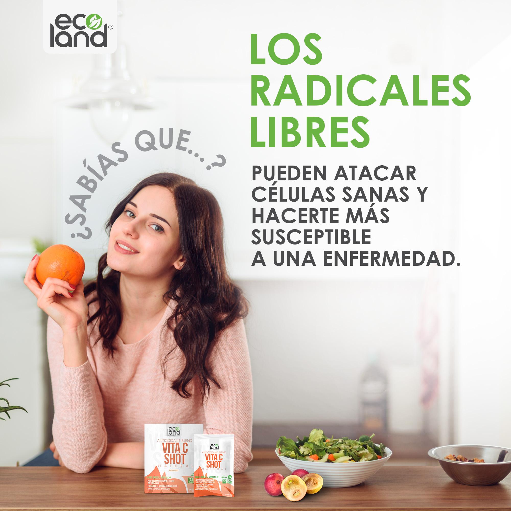 LOS RADICALES LIBRES Y LAS ENFERMEDADES