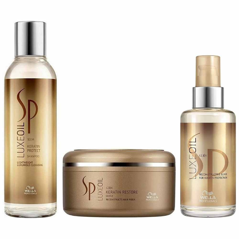 Pack SP Luxe Oil Shampoo 200 ml + Mascarilla 150 ml + Aceite 100 ml