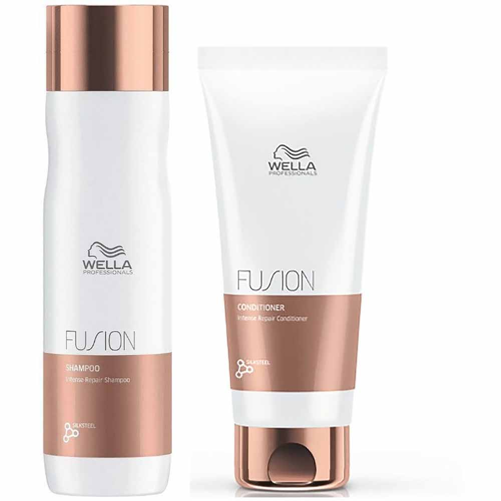 Pack Wella Fusion Shampoo 250 ml + Acond. 200 ml