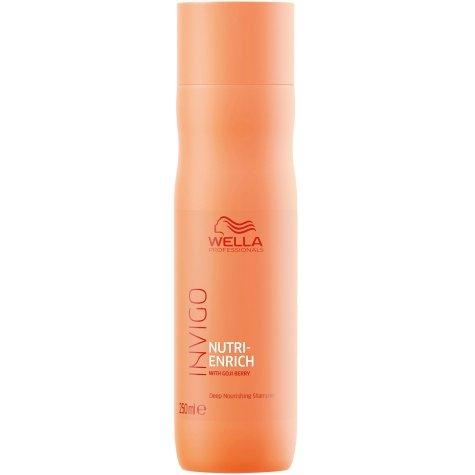 Shampoo Wella Invigo Nutri Enrich Nutrición 250 ml