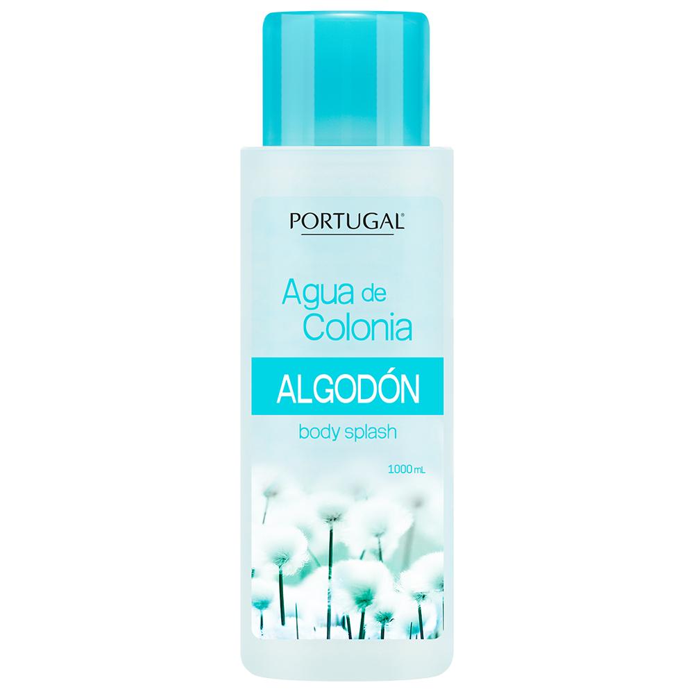 Agua de Colonia Algodón x 1L Portugal Cosmetics