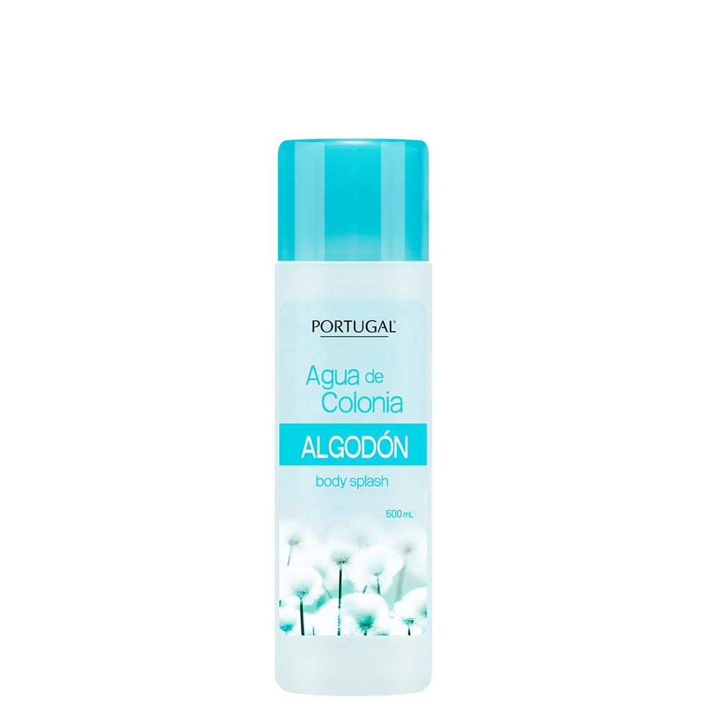Agua de Colonia Algodón x 500ml Portugal Cosmetics