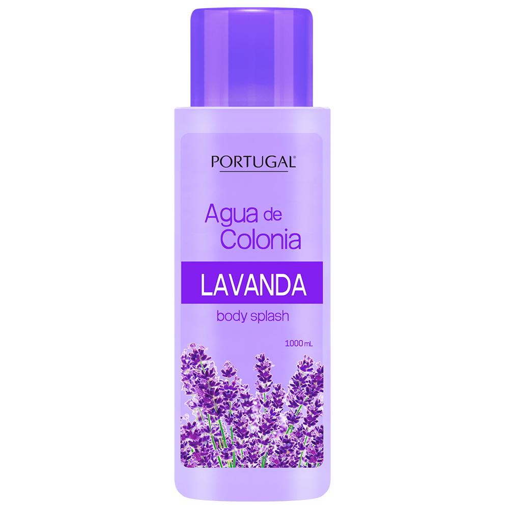 Agua de Colonia Lavanda x 1L Portugal Cosmetics