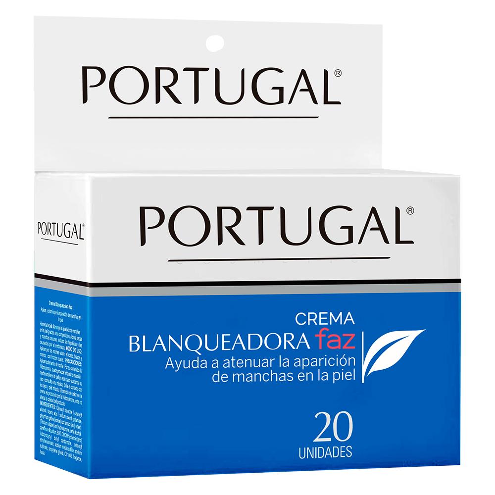 Crema Blanqueadora Faz - 20 sachets de 10g Portugal Cosmetics
