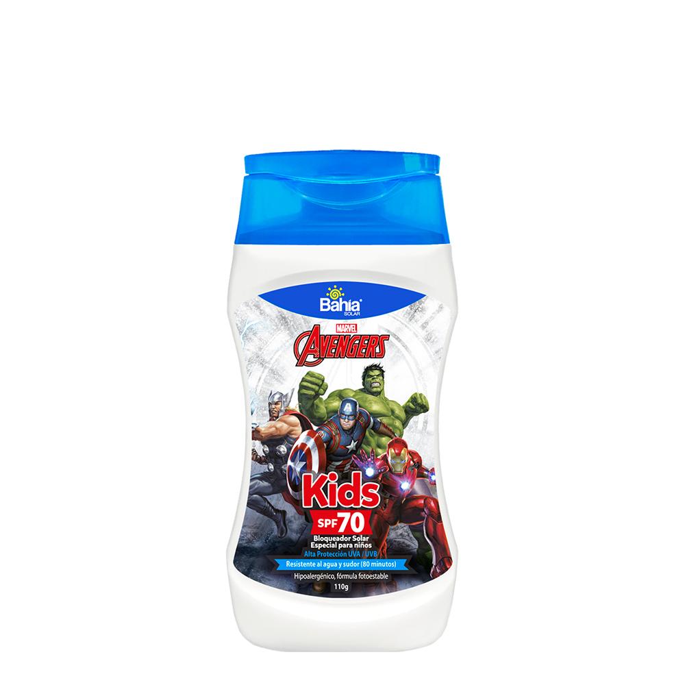 Bloqueador Bahía Avengers SPF 70 x 110g