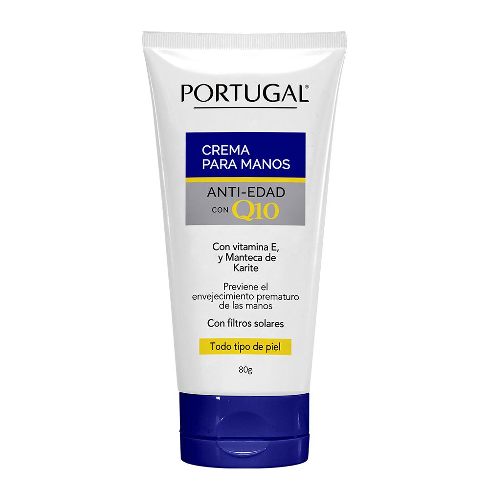 Crema De Manos Antiedad Con Q10 x 80g Portugal Cosmetics