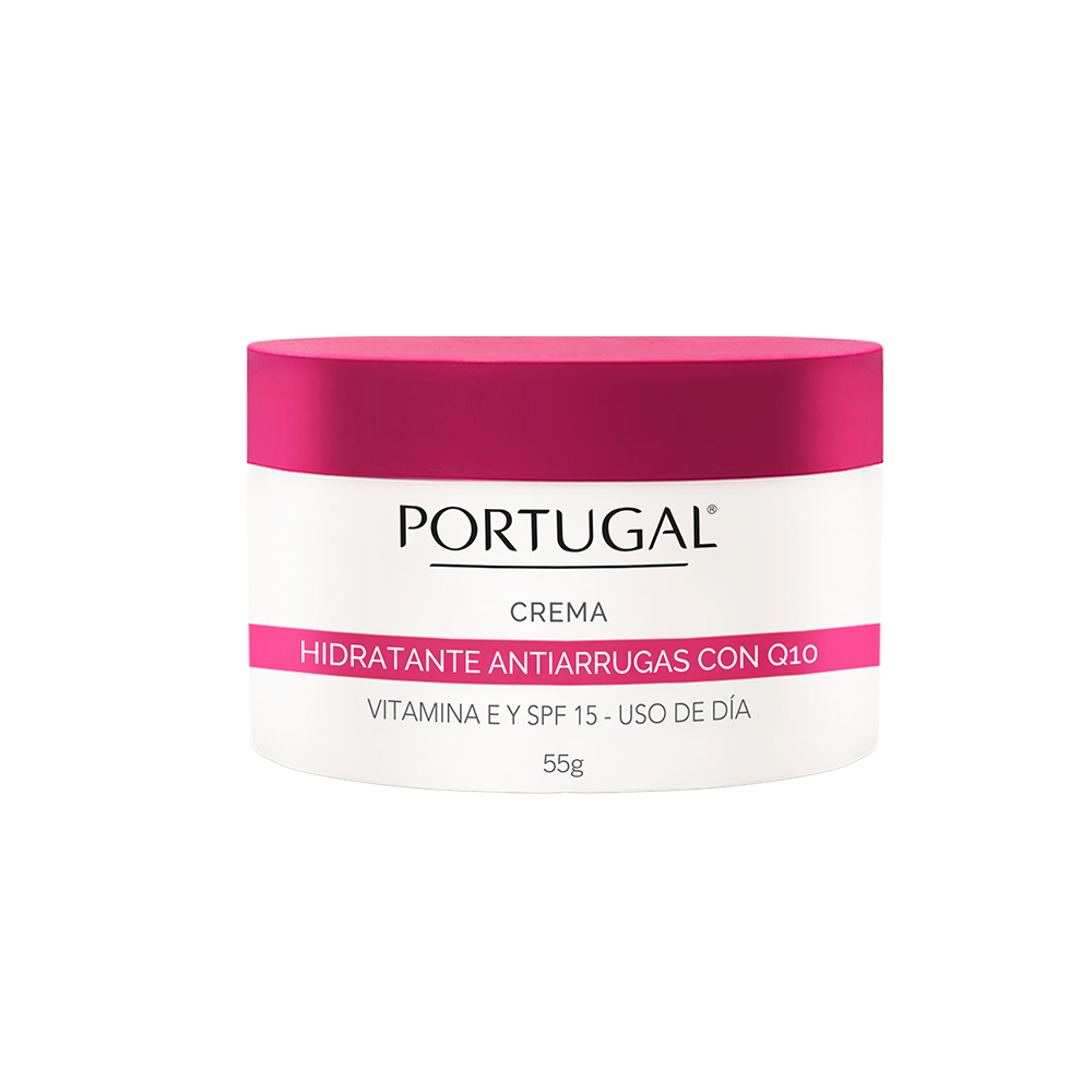 Crema Hidratante Q10 x 55g Portugal Cosmetics